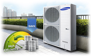 Высочайшая энергоэффективность samsung dvm eco